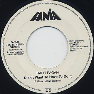 Fania All Stars / Steady (Fijo) (Andy Smith & Keith Lawrence Remix) back