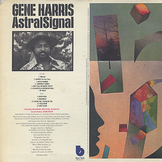 Gene Harris / Astralsignal back