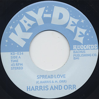 Harris & Orr / Spread Love