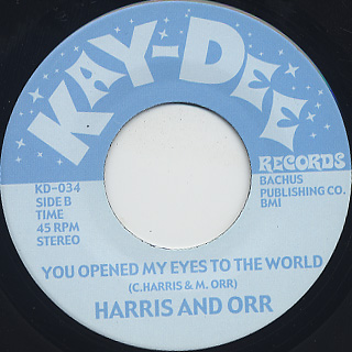 Harris & Orr / Spread Love back