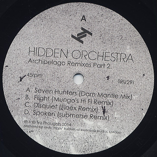 Hidden Orchestra / Archipelago Remixes Part 2 back