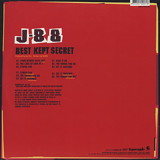 J-88 / Best Kept Secret back