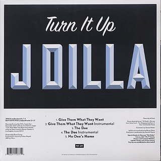 J Dilla / Give Them What They Want back