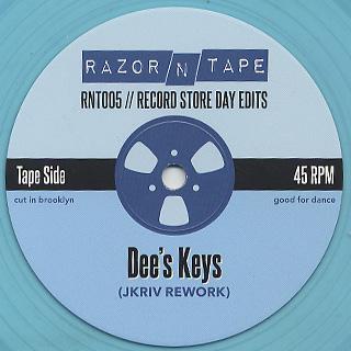 Jkriv / Record Store Day Edits back