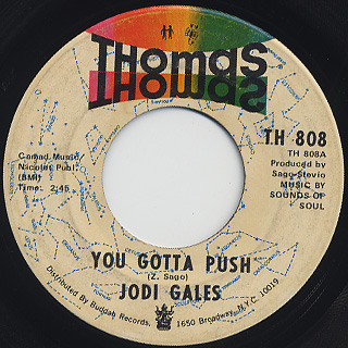 Jodi Gales / You Gotta Push