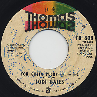 Jodi Gales / You Gotta Push back