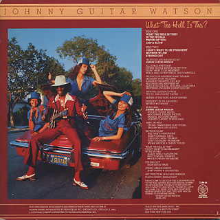 Johnny Guitar Watson / What The Hell Is This? back