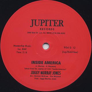 Juggy Murray Jones / Inside America (12