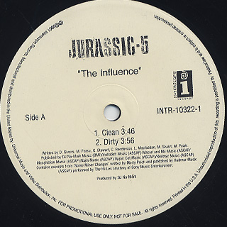 Jurassic 5 / The Influence back