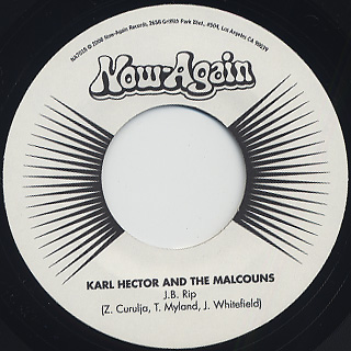Karl Hector And The Malcouns / J.B. Rip c/w Popcorn With A Feeling