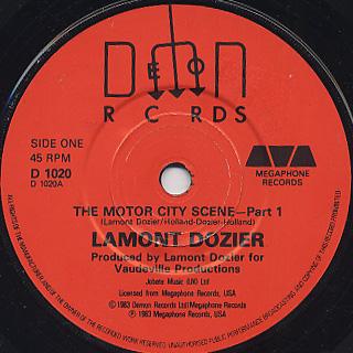 Lamont Dozier / The Motor City Scene