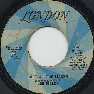 Lee Fields / She's A Love Maker