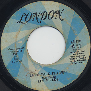 Lee Fields / She's A Love Maker back