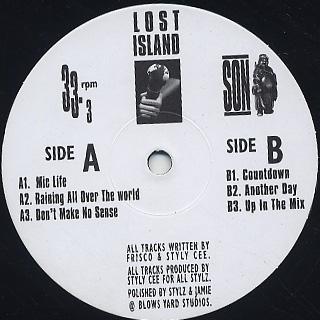 Lost Island / Mic Life EP back