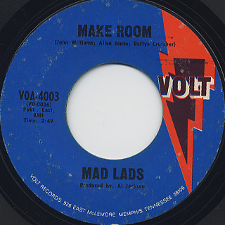 Mad Lads / Make Room front