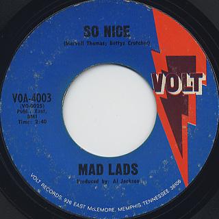 Mad Lads / Make Room back