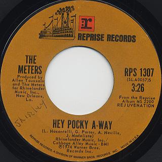 Meters / Hey Pocky A-Way c/w Africa