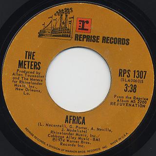 Meters / Hey Pocky A-Way c/w Africa back