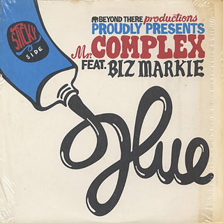 Mr. Complex Feat. Biz Markie & El Fudge / Glue c/w Scrape Your Back Out
