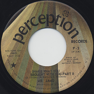 Mr Jamo / Shake What You Brought With You back