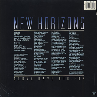 New Horizons / Gonna Have Big Fun back