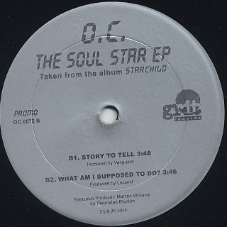 O.C. / The Soul Star EP back