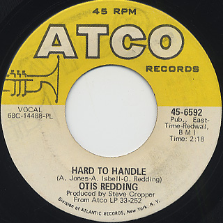 Otis Redding / Hard To Handle c/w Amen front