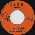 Out-of-Sights / My Woman's Love c/w I Was Wrong