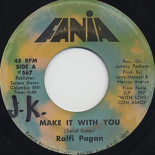 Ralfi Pagan / Make It With You