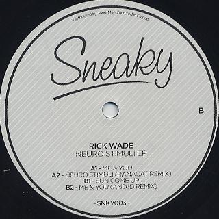 Rick Wade / Neuro Stimuli back