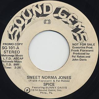 Spice Featuring Bunny Davis / Sweet Norma Jones