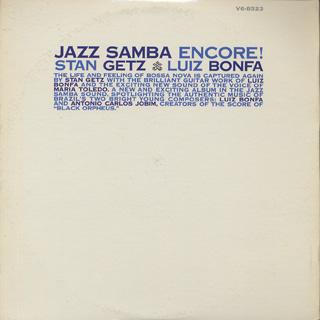 Stan Getz and Luiz Bonfa / Jazz Samba Encore! back