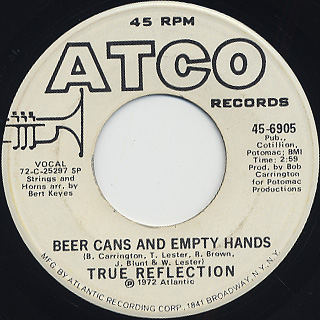 True Reflection / Beer Cans And Empty Hands
