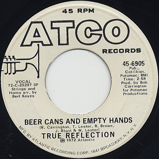 True Reflection / Beer Cans And Empty Hands back