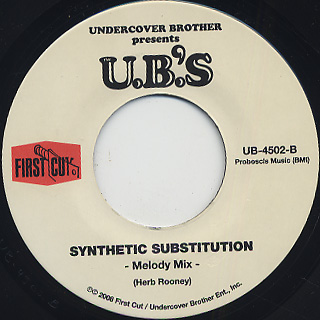 U.B.'s / Synthetic Substitution back