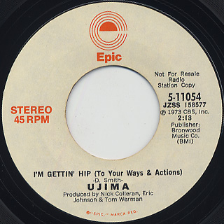 Ujima / I'm Gettin' Hip (To Your Ways & Actions)