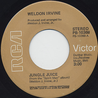 Weldon Irvine / Jungle Juice