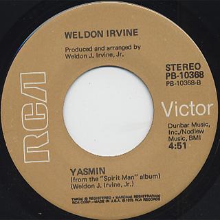 Weldon Irvine / Jungle Juice back