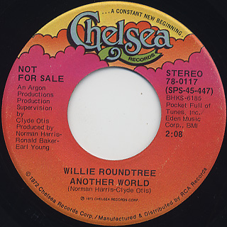 Willie Roundtree / Another World