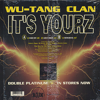 Wu-Tang Clan / It's Yourz back
