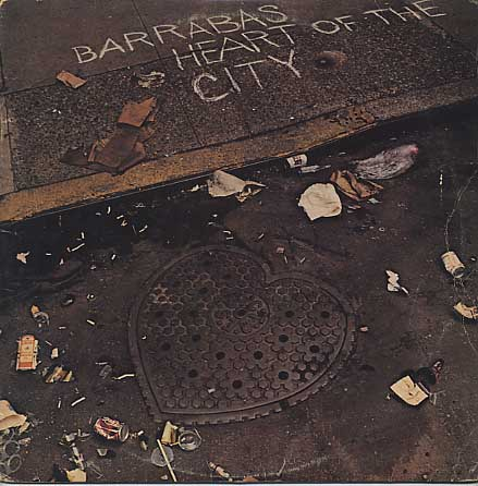 Barrabas / Heart Of The City front