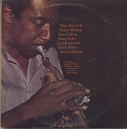 Blue Mitchell / Vital Blue back