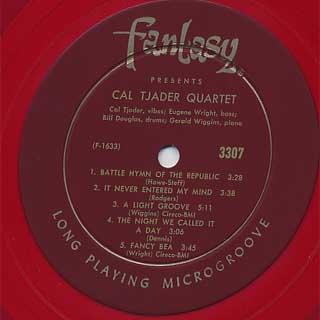 Cal Tjader Quartet / Cal Tjader Quartet label
