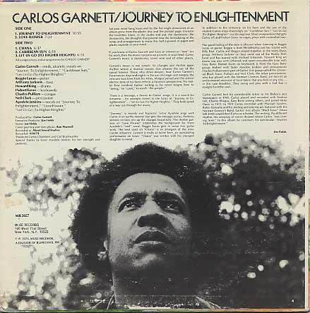 Carlos Garnett / Journey To Enlightenment back