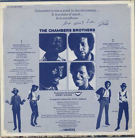 Chambers Brothers / Unbonded back