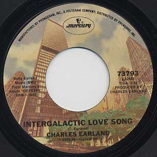Charles Earland / Intergalactic Love Song c/w From My Heart To Yours