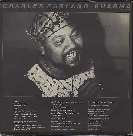 Charles Earland / Kharma back