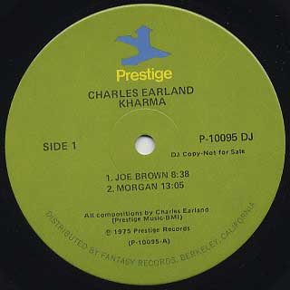 Charles Earland / Kharma label