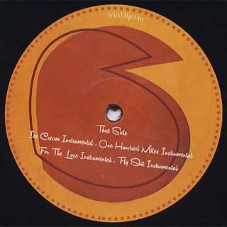Chuck Strangers x Hus Kingpin / Hus Kingpin Meets Pro Era : EP back