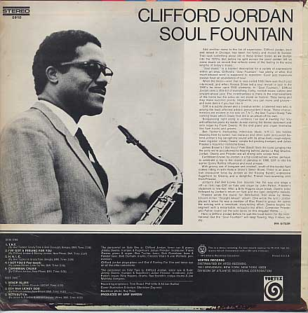 Clifford Jordan / Soul Fountain back